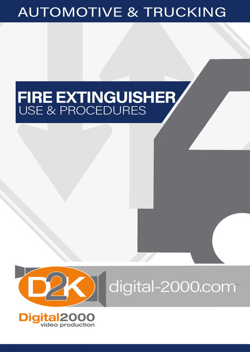 Fire Extinguisher Use and Procedures