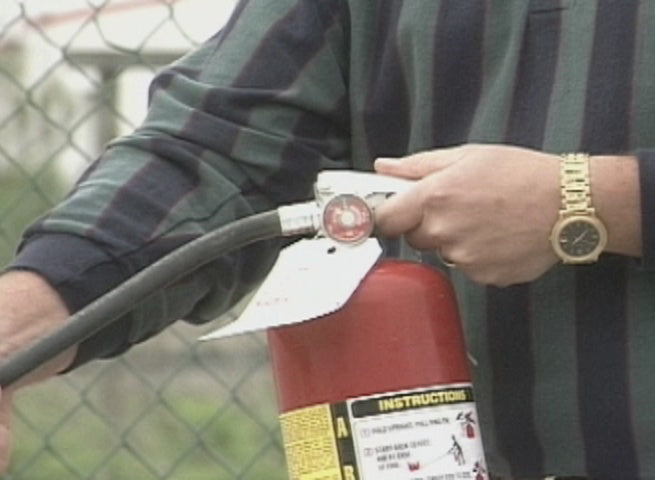 Fire Extinguisher Safety - Construction