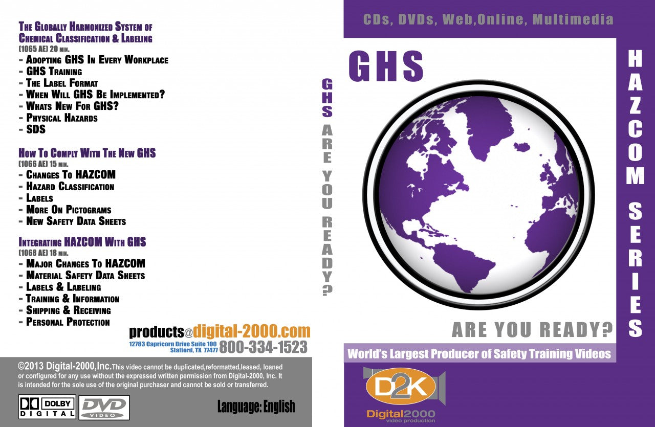 GHS & Hazcom Training Videos