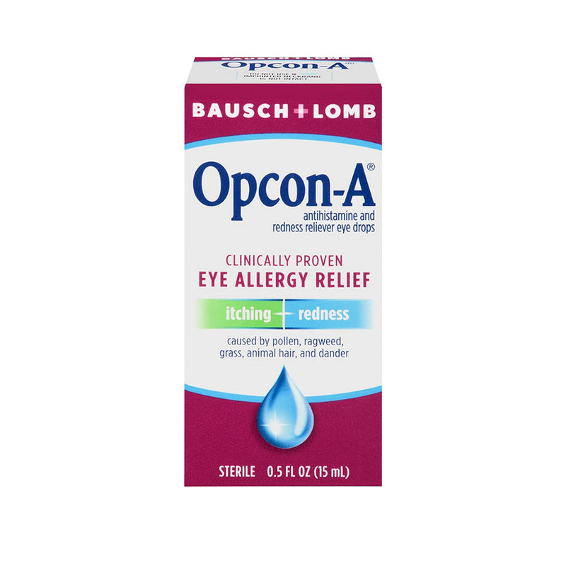 Bausch & Lomb Allergy Relief Eye Drops - 0.5 oz