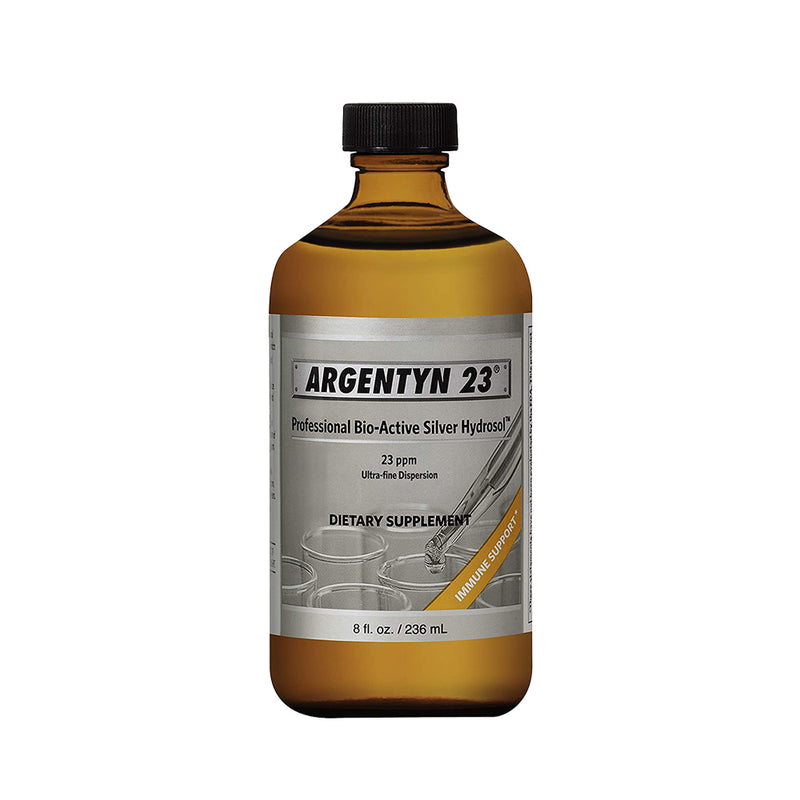 Argentyn 23 Colloidal Silver Liquid 8 oz screw top