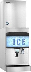 Hoshizaki DM-4420N 200 Lb Countertop Ice & Water Dispenser, Push Button