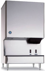 Hoshizaki DCM-500BWH-OS 590 Lb Countertop Cubelet Ice Machine & Water Dispenser, 40 Lb Storage Capacity, Water Cooled, Opti-Serve
