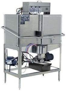 CMA Dishmachines CB-2L 80 Rack/Hr Door Type, Low Temperature Chemical Sanitizing, Double Rack, Left Door Opening