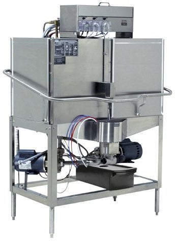 CMA Dishmachines CB-2R 80 Rack/Hr Door Type, Low Temperature Chemical Sanitizing, Double Rack, Right Door Opening
