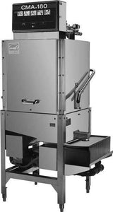CMA Dishmachines CMA-180SB 60 Rack/Hr 2 Door Type Dishwasher, High Temperature Sanitizing, Single Rack w/o Booster Heater