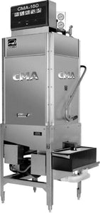 CMA Dishmachines CMA-180TCB 60 Rack/Hr 2 Door Dishwasher, High Temperature Sanitizing, Single Rack w/ Booster