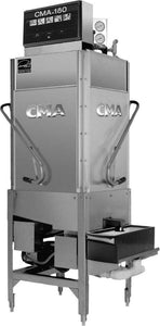CMA Dishmachines CMA-180TSB 60 Rack/Hr 2 Door Dishwasher, High Temperature Sanitizing, Single Rack w/ Booster