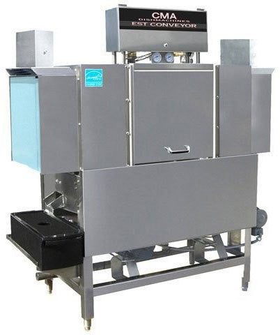 Copy of CMA Dishmachines EST-44 L/R 249 Racks/Hr, High Temperature Sanitizing Conveyor Dishwasher, Left to Right