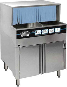 CMA Dishmachines GL-C 1000 Glasses/Hr Undercounter Glass Washer, Low Temperature Chemical Sanitizing