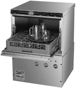 CMA Dishmachines GL-X 30 Rack/Hr Undercounter Glass Washer, Low Temperature Chemical Sanitizing