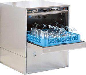 CMA Dishmachines L-1C 20 Rack/Hr Undercounter Glass Washer, Low Temperature Chemical Sanitizing
