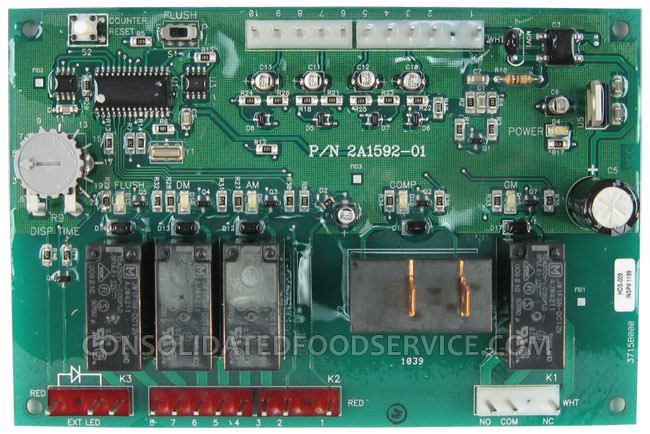 Hoshizaki 2A1592-01 Control Board (Timer Board for DCM) for Ice Machine