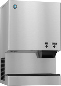 Hoshizaki DCM-300BAH 321 Lb Countertop Cubelet Ice Machine & Water Dispenser, 40 Lb Storage Capacity, Air Cooled, Push Button