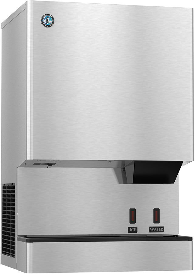 Hoshizaki DCM-500BAH-OS 618 Lb Countertop Cubelet Ice Machine & Water Dispenser, 40 Lb Storage Capacity, Air Cooled, Opti-Serve