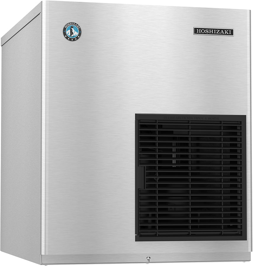 Hoshizaki F-801MWJ 680 Lb Flake Ice Machine, Water Cooled, 22