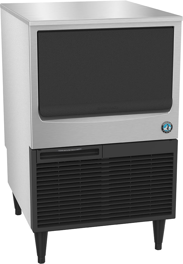 Hoshizaki KM-160BWJ 157 Lb Undercounter Cresent Cube Ice Machine, Self Contained, Water Cooled