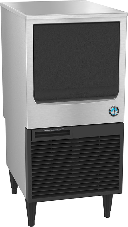 Hoshizaki KM-61BAH 71 Lb Undercounter Crescent Cube Ice Machine, Self Contained, Air Cooled