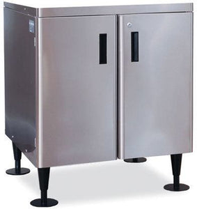 Hoshizaki SD-200 Ice Machine Stand, for DM-200, 2 Door, Stainless Steel