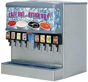 "Lancer 85-4541H-111 30"" 250 Lb Cubed Ice & Beverage Dispenser, 10 Valve, Self Serve, IBD4500"