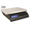 ZIEIS Multi-Purpose Digital Kitchen Scale - MODEL Z30-SS-ZSEAL (30# x 0.1oz / 14000g x 2g)