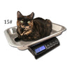 ZIEIS Digital Pet and Animal Scale - Z15P-SSP (15# x 0.1oz / 7000g x 2g)