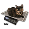 ZIEIS Digital Pet and Animal Scale - Z30P-SST (30# x 0.1oz / 14000g x 2g)