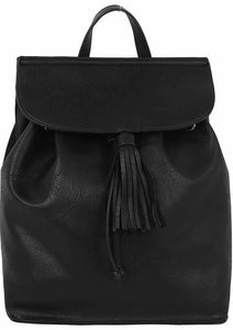 Convertible Backpack w/ Tassel