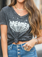 Load image into Gallery viewer, Charcoal Dreamer Graphic Tee
