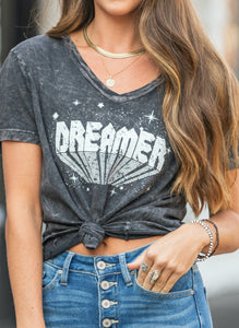 Charcoal Dreamer Graphic Tee