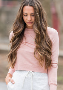 Soft Cropped Long Sleeve