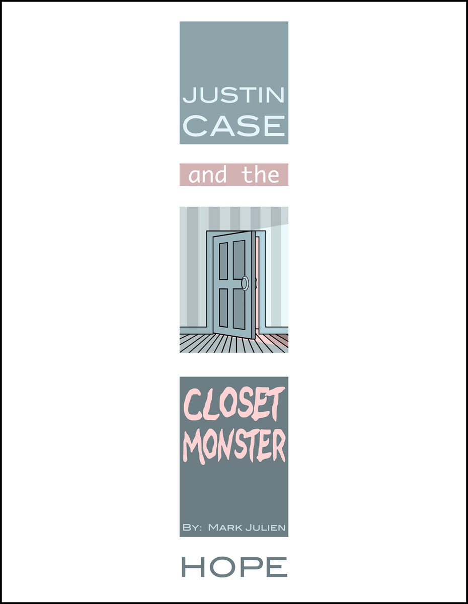 Justin Case and the Closet Monster cover