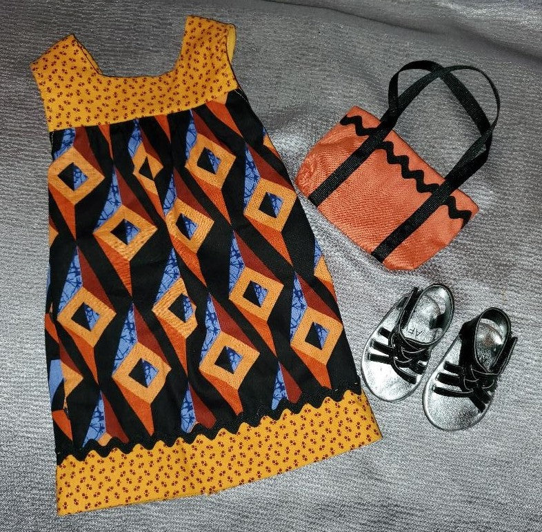 African-Print Outfit