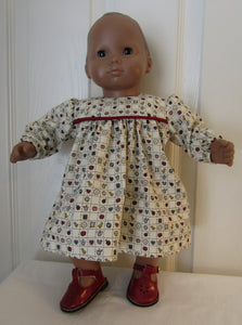 Bitty Baby Long Sleeved Dress