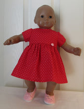 Load image into Gallery viewer, Bitty Baby Red Heart Dress