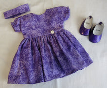 Load image into Gallery viewer, Bitty Baby Purple Dragonfly Dress