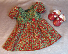 Load image into Gallery viewer, Holly Christmas Dress