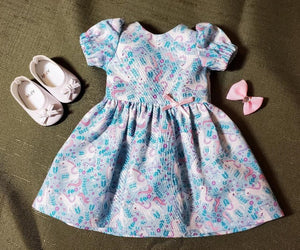 Wellie Wisher Unicorn Dress