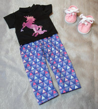 Load image into Gallery viewer, Shiny Unicorn T-Shirt & Leggings