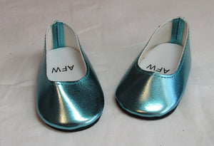 Iridescent Blue Dress Shoes