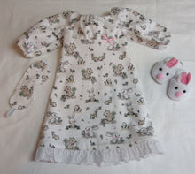 Load image into Gallery viewer, Bunny & Squirrel Nightgown