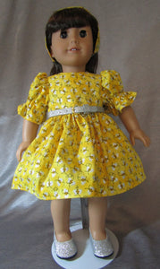 Sparkly Bumble-Bee Dress