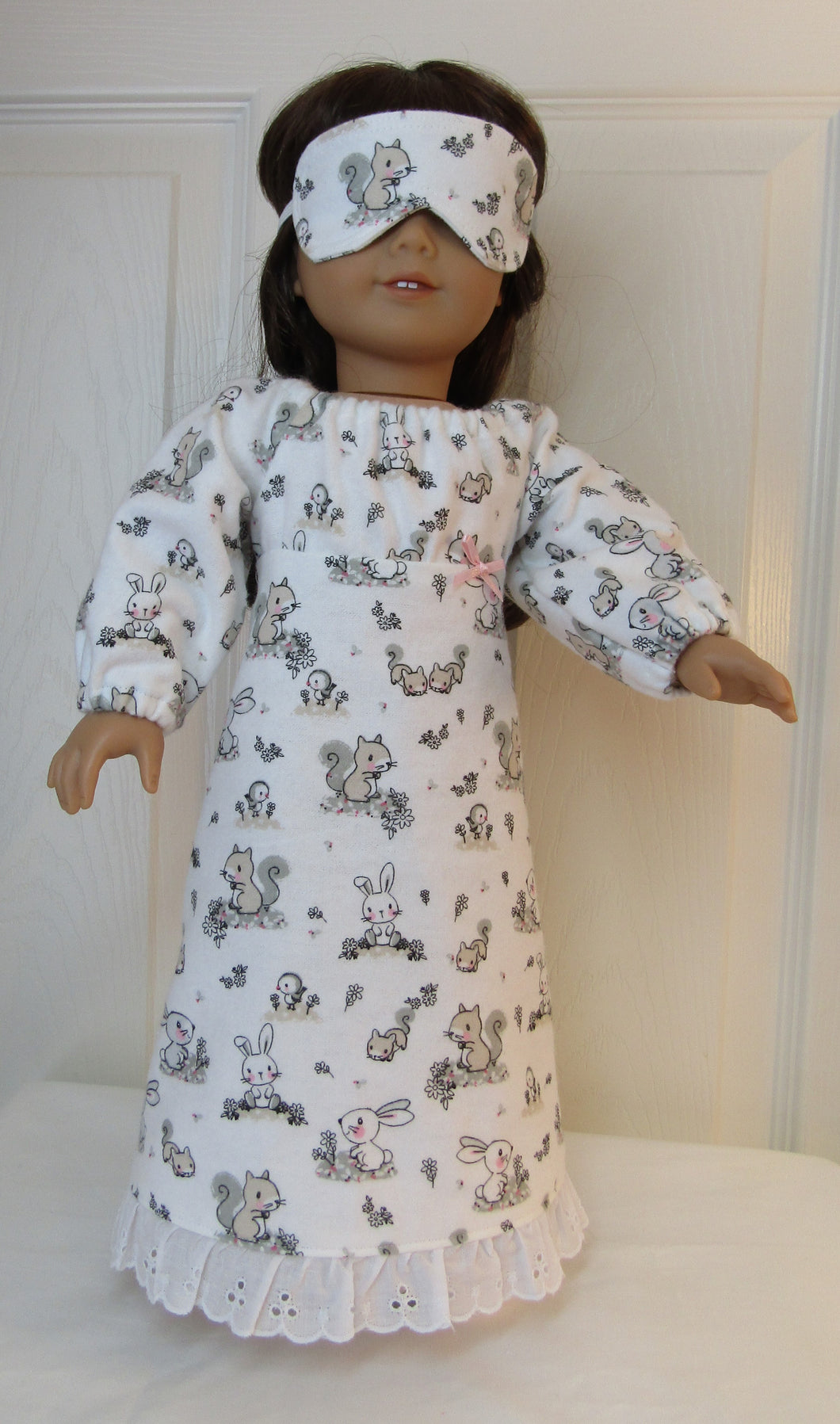 Bunny & Squirrel Nightgown
