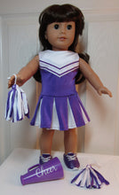 Load image into Gallery viewer, Purple Cheer Outfit