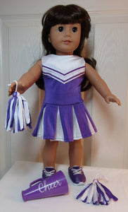 Purple Cheer Outfit