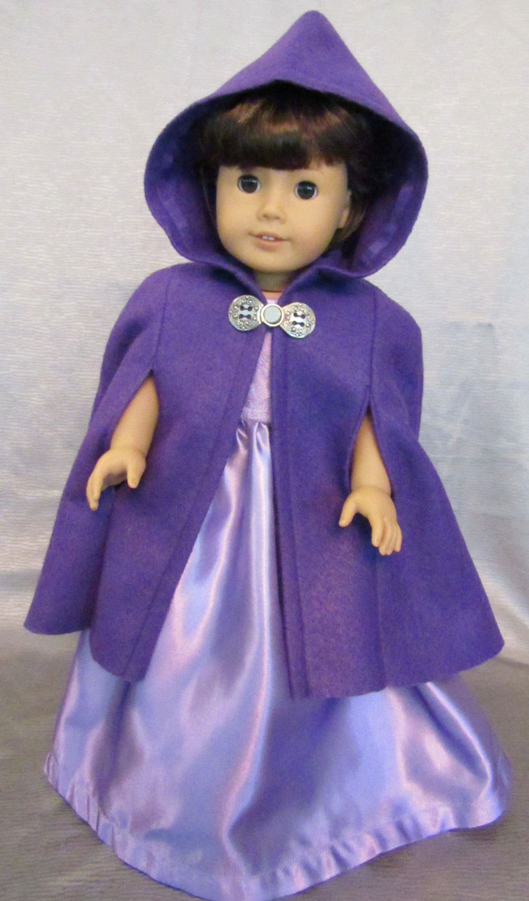Purple Felt Cape