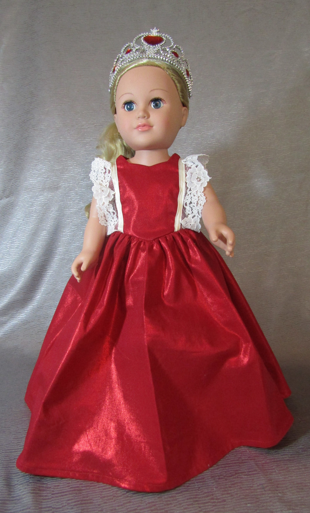 Red Princess Gown and Crown