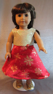 Snowflakes and Sequins Dress