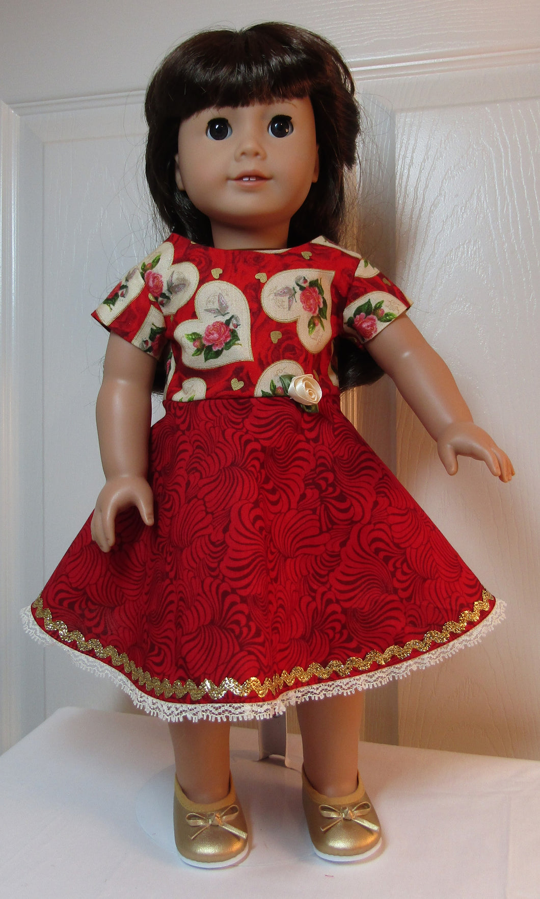 Valentine Swing Dress