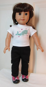 Narwhal T-Shirt & Leggings